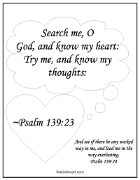 Coloring Page Psalms 119:23-24
