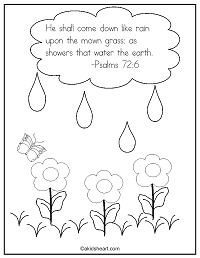 Psalms 72:6 Coloring Page