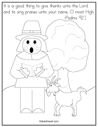 Coloring Page Psalms 92:1