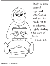 Psalm 139:23 Coloring Page