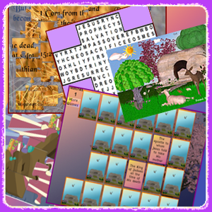 The Resurrection Story Games and Puzzles