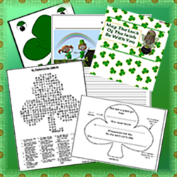 Printable Resources and Games for St. Patrick's Day