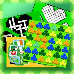 Online games and puzzles for St Patrick's Day